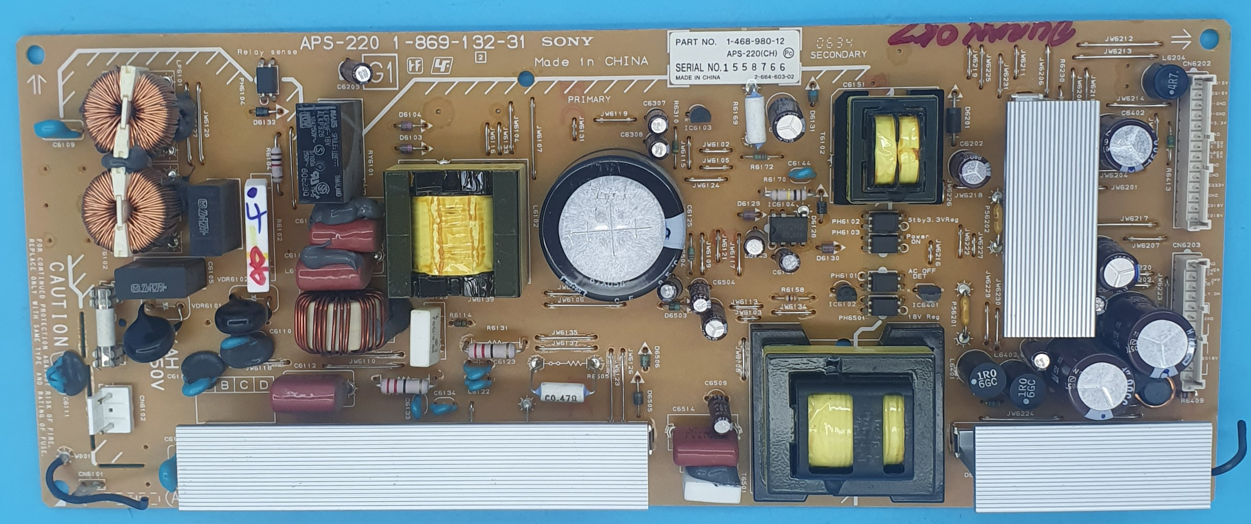 1-869-132-31 Sony Power (KDV DAHİL = 100 TL)