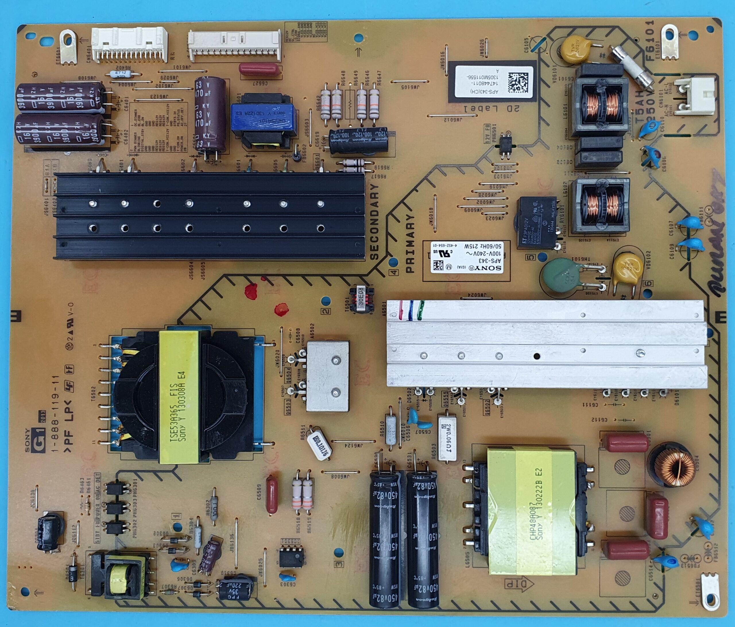1-888-119-11 Sony Power ( KDV DAHİL = 200 TL)