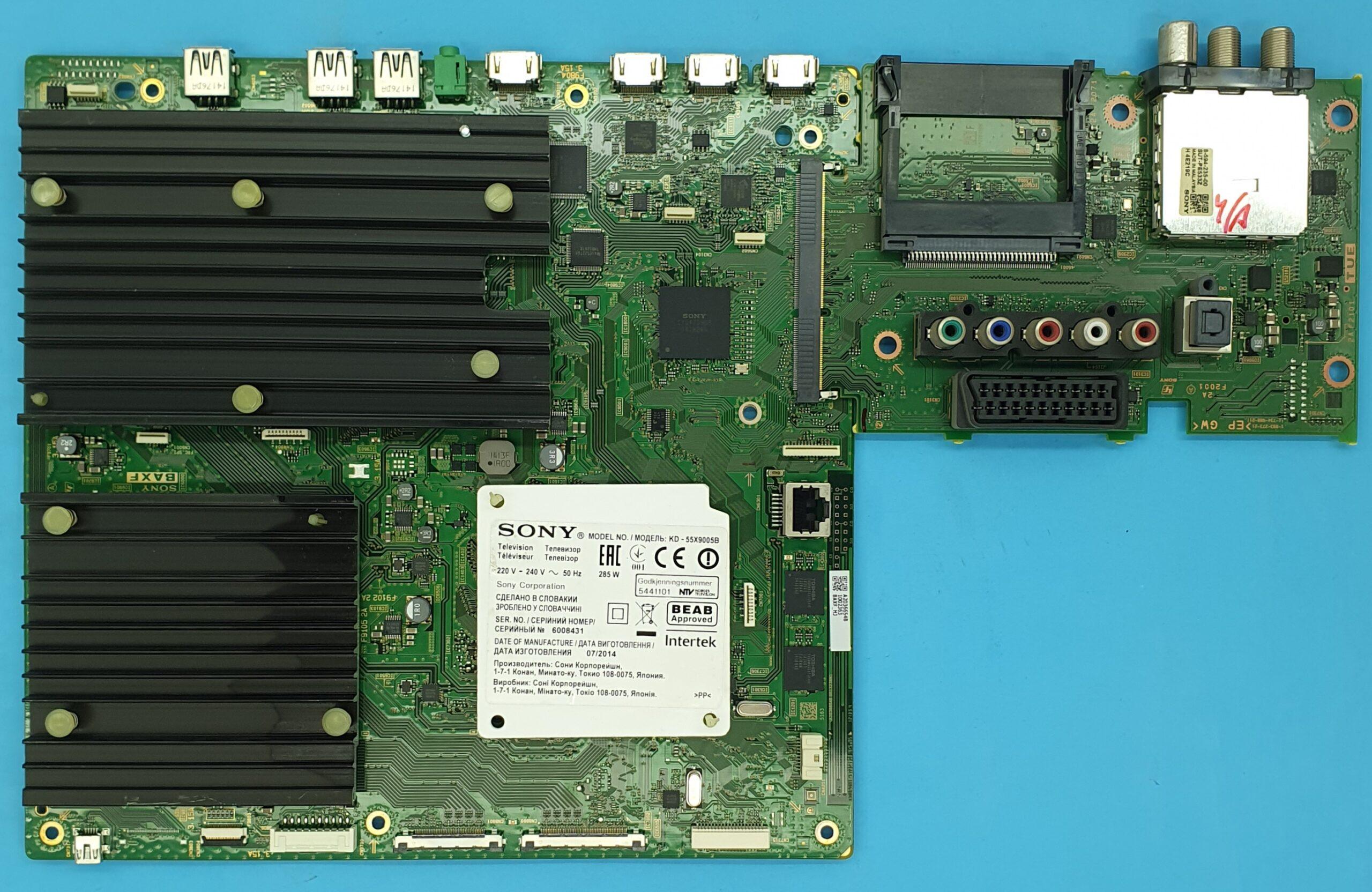 1-893-272-21 Sony Anakart (KDV DAHİL = 750 TL)