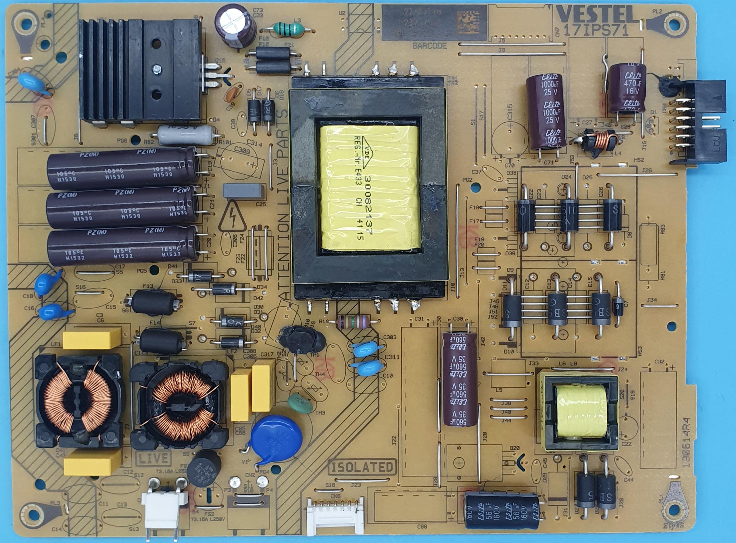 17IPS71-23232618 Vestel Power (KDV DAHİL = 130 TL)