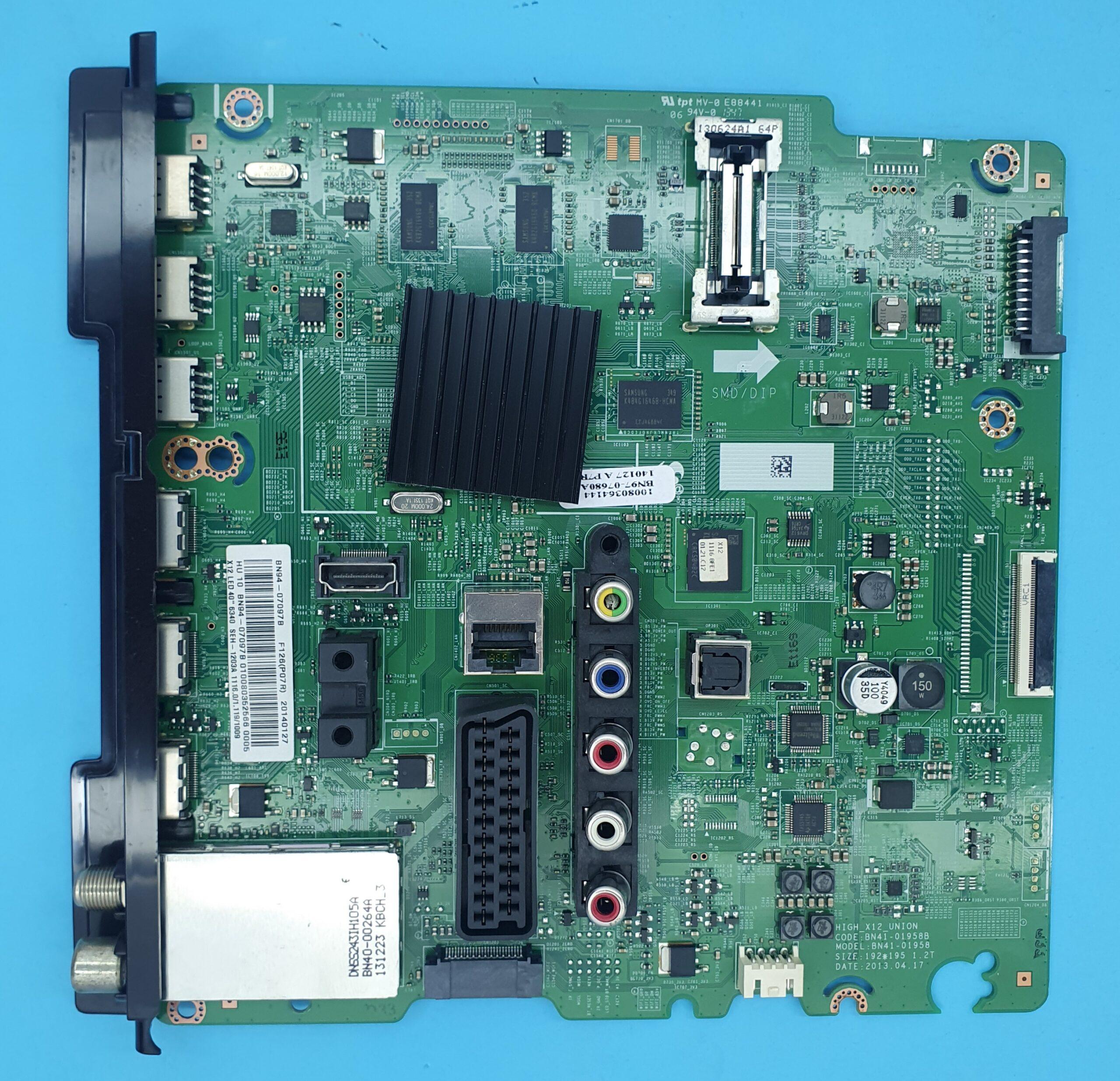 BN94-07097B , BN41-01958B Samsung Anakart (KDV DAHİL = 300 TL)