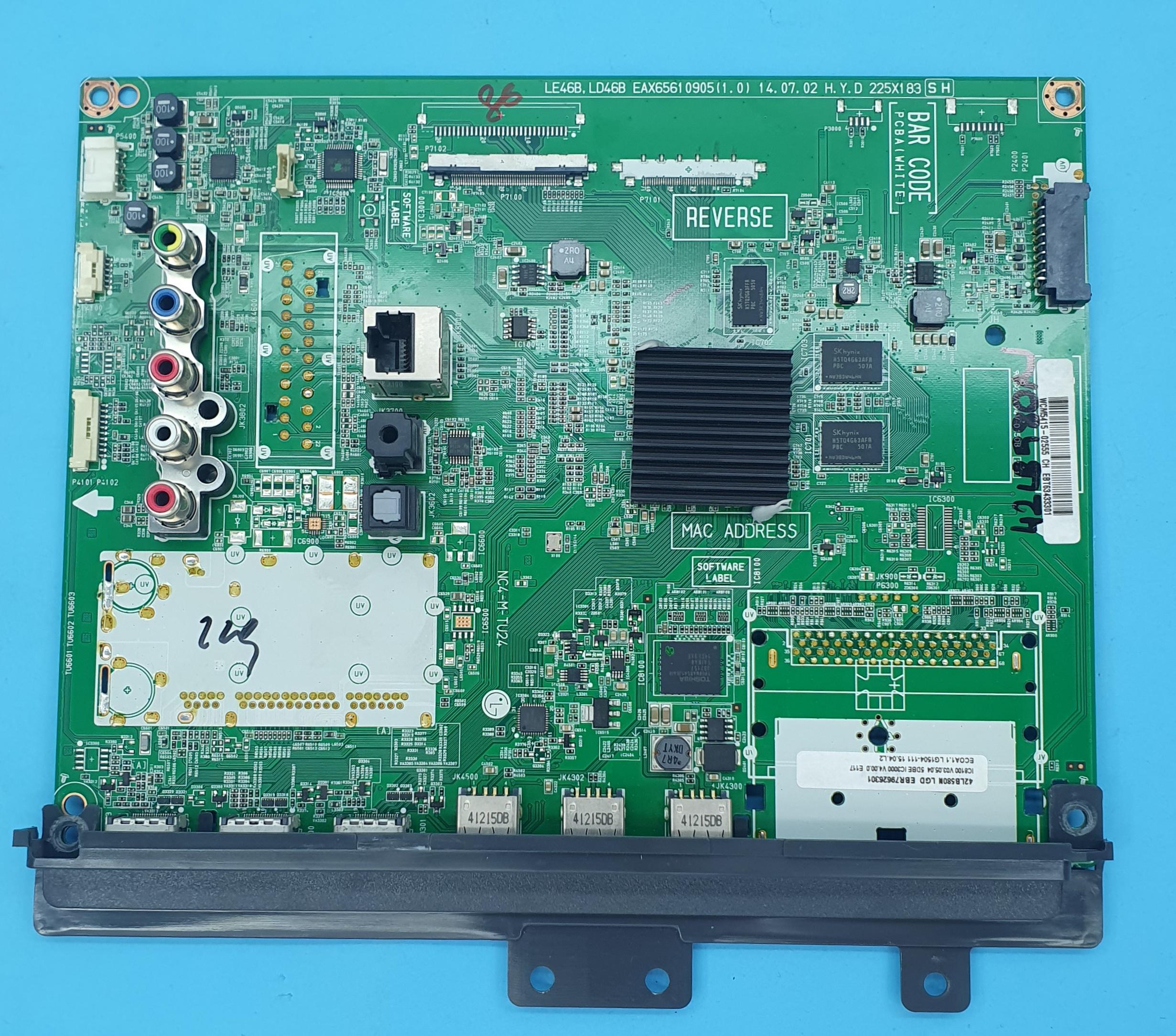 EAX65610905(1.0) LG ANAKART (KDV DAHİL = 300 TL)