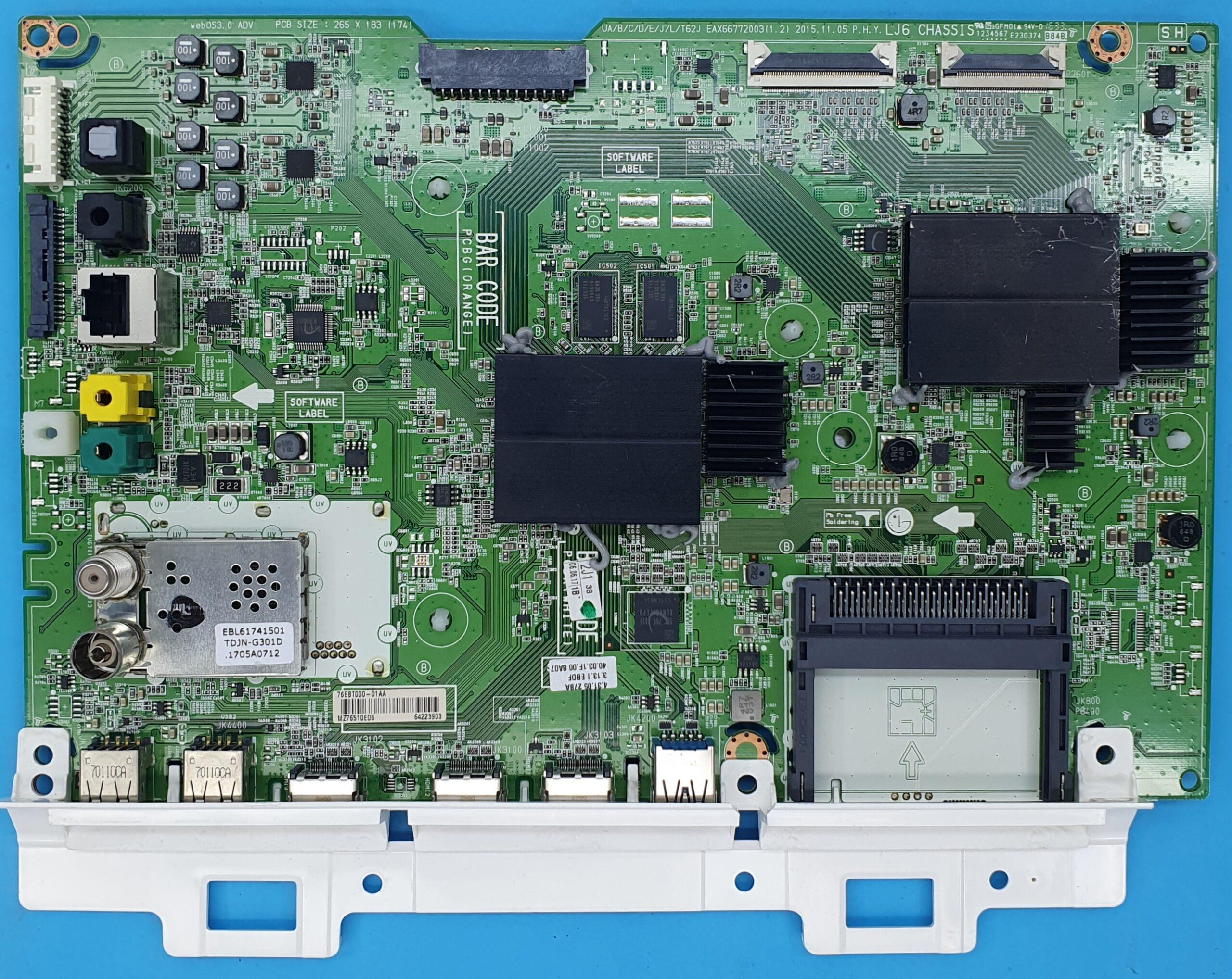 EAX66772003(1.2) LG Anakart (KDV DAHİL = 550 TL)