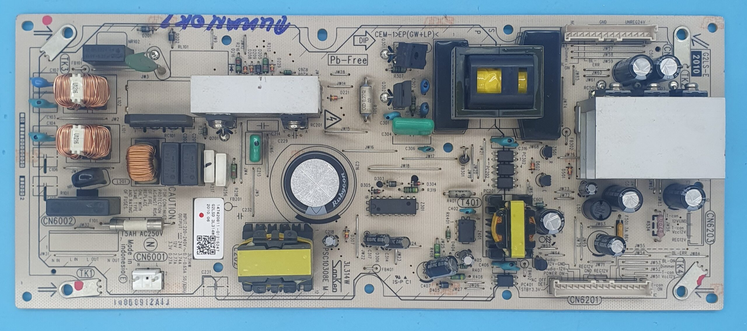 PSC10308E-M Sony Power (KDV DAHİL = 100 TL)