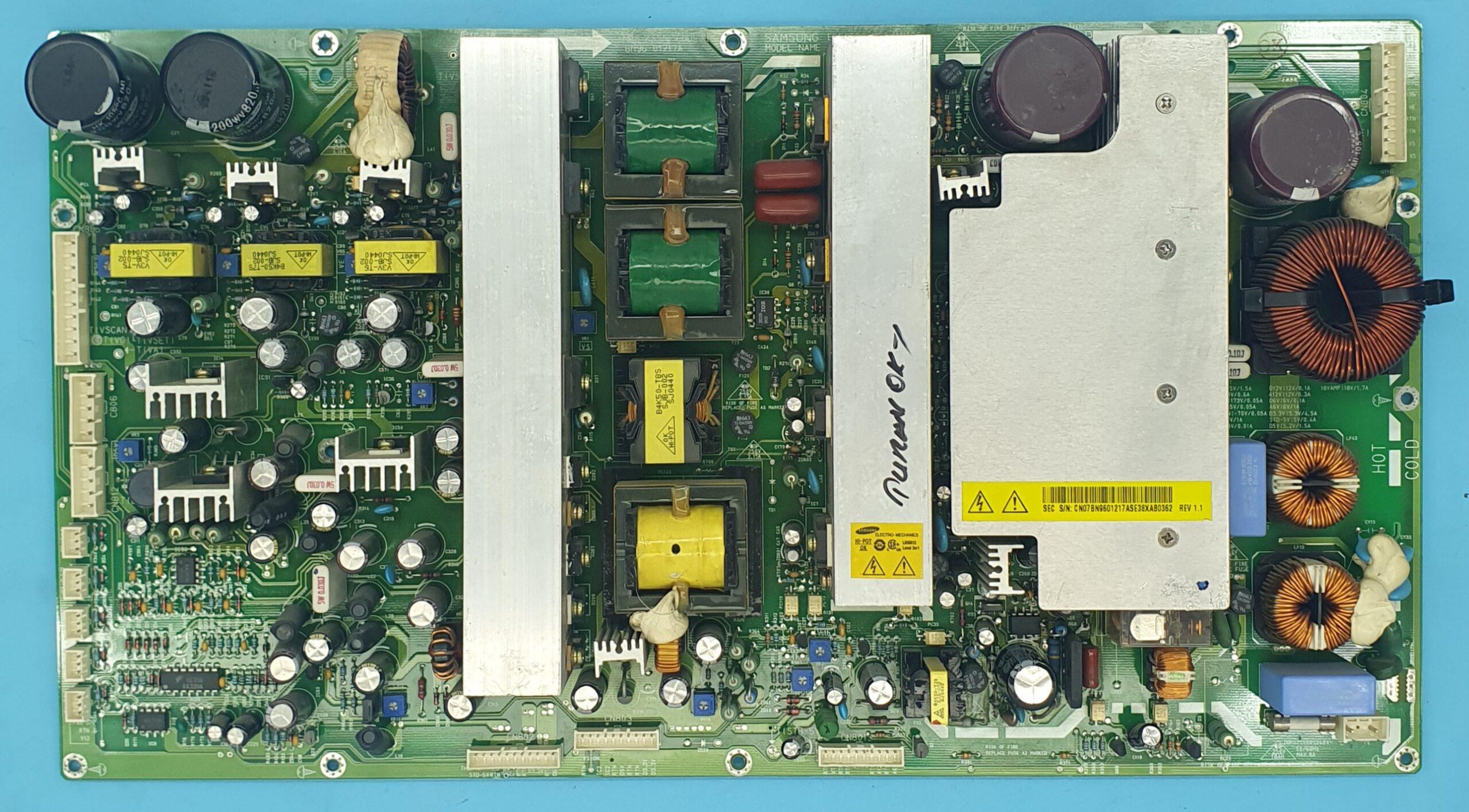 BN96-01217A Samsung Anakart (KDV DAHİL = 180 TL)