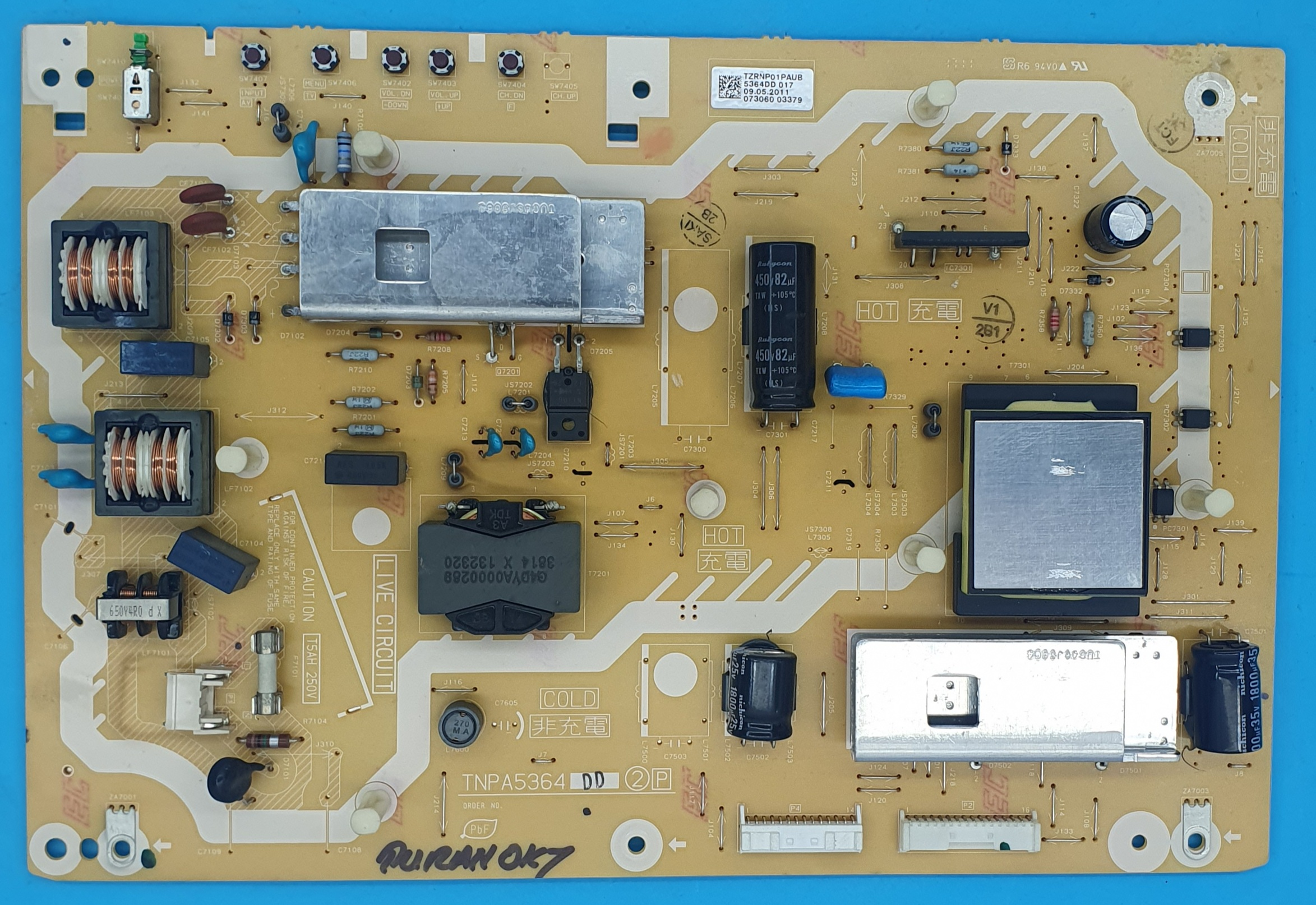 TNPA5364 Panasonic Power (KDV DAHİL = 180 TL)