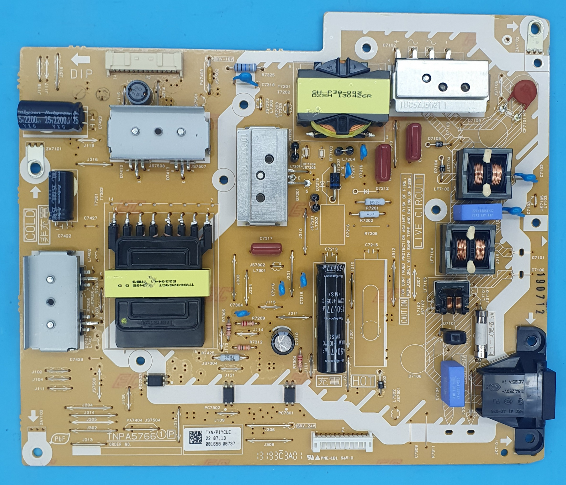 TNPA5766 Panasonic Power (KDV DAHİL = 150 TL)