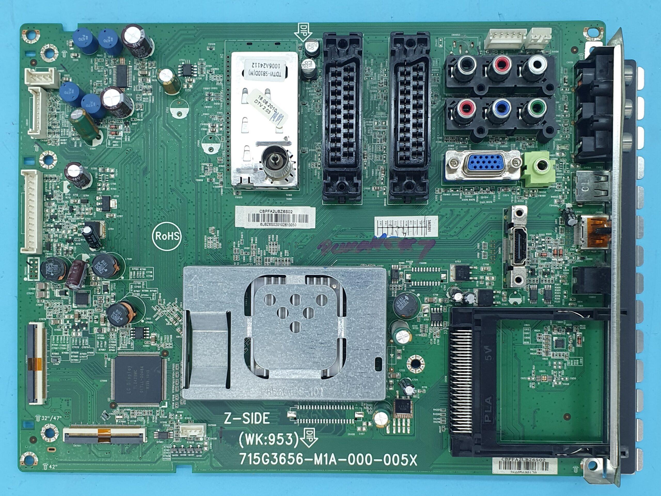 715G3656-M1A-000-005X Philips Anakart (KDV DAHİL = 236 TL)