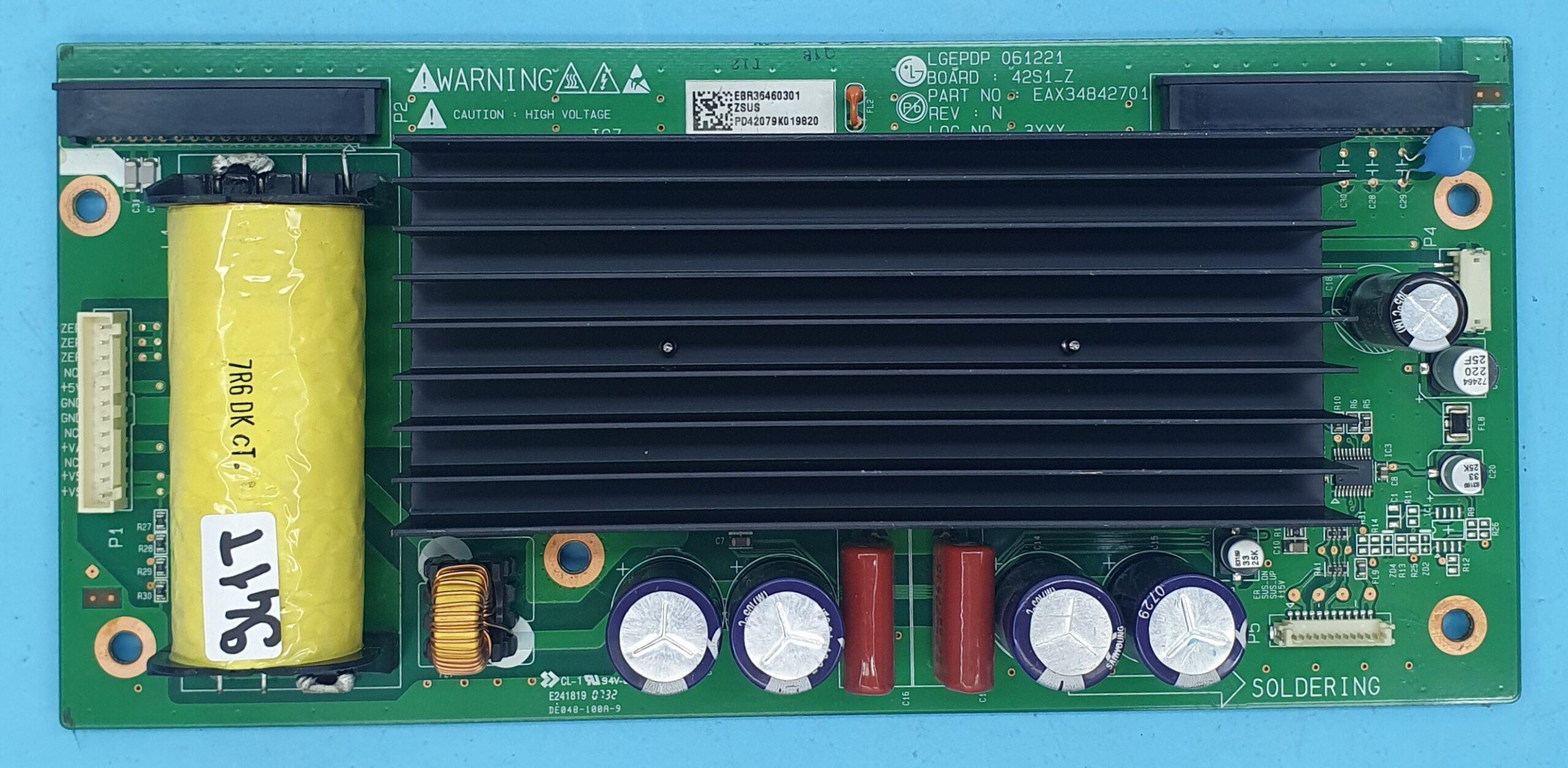 EAX34842701 LG Z-SUS (KDV DAHİL = 118 TL)