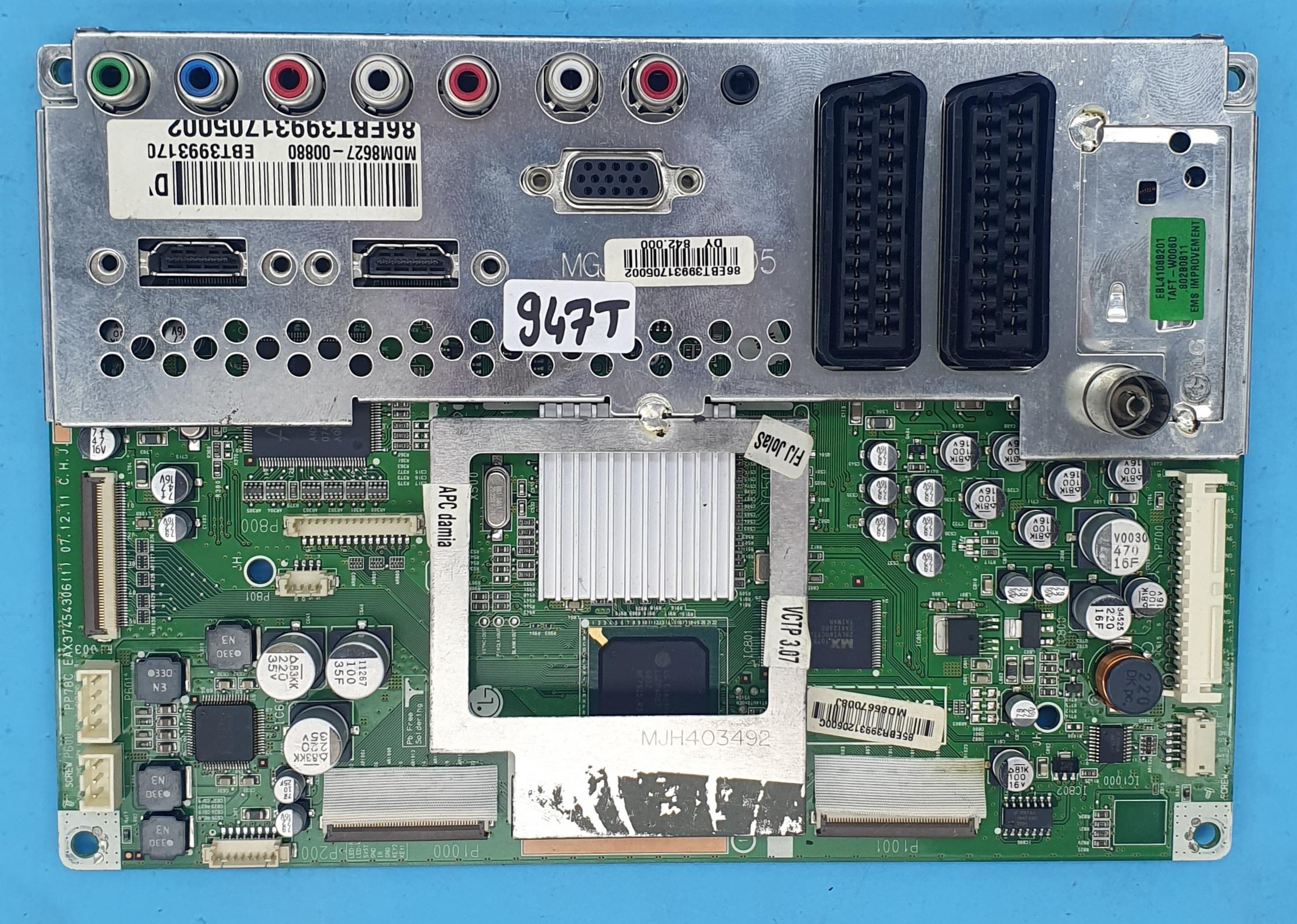 EAX37454306(1) LG Anakart (KDV DAHİL = 236 TL)