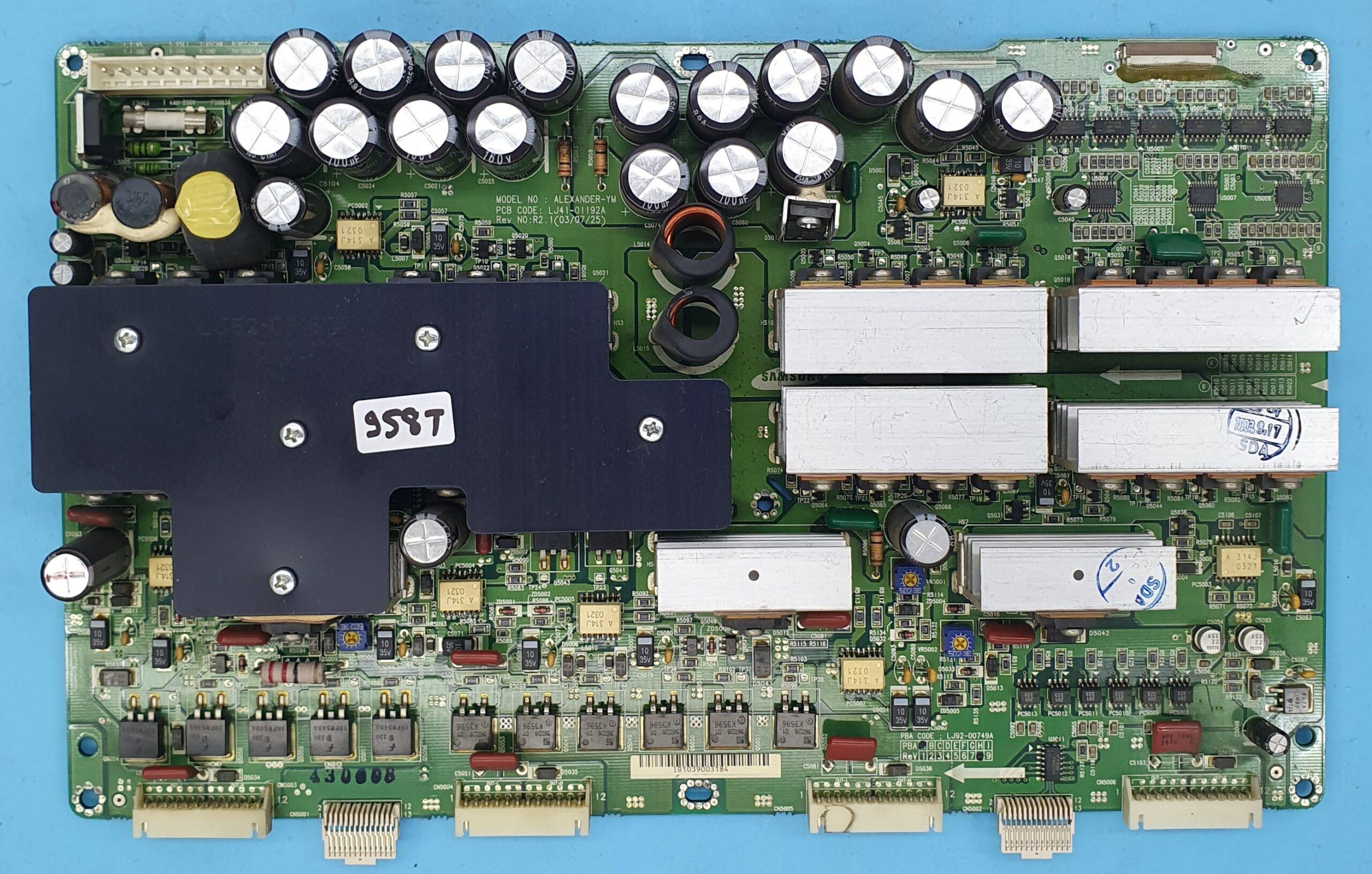 LJ41-01192A,LJ92-00749A SAMSUNG Y-SUS (KDV DAHİL = 150 TL)