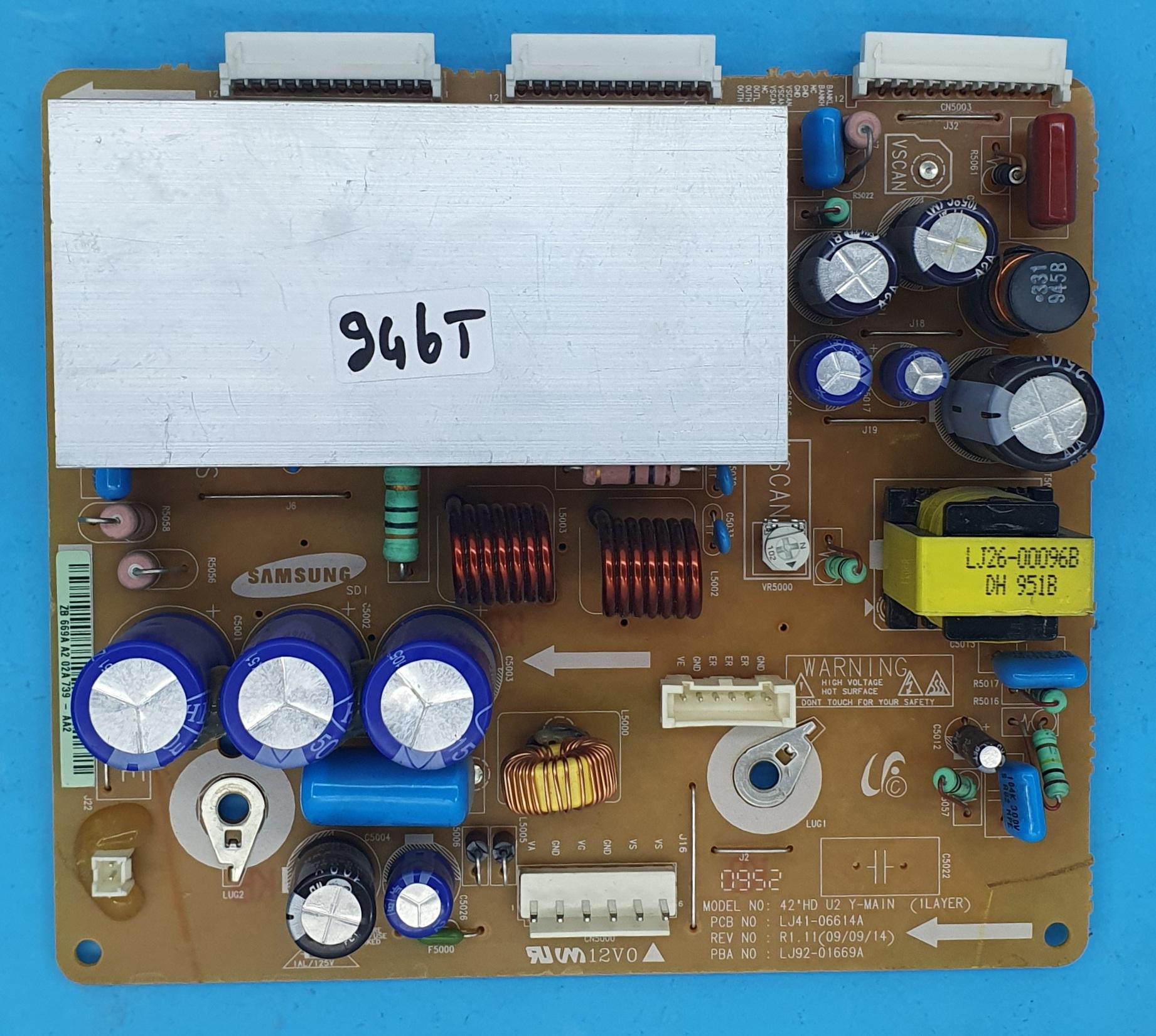 LJ41-06614A,LJ92-01669A SAMSUNG Y-SUS (KDV DAHİL = 100 TL)