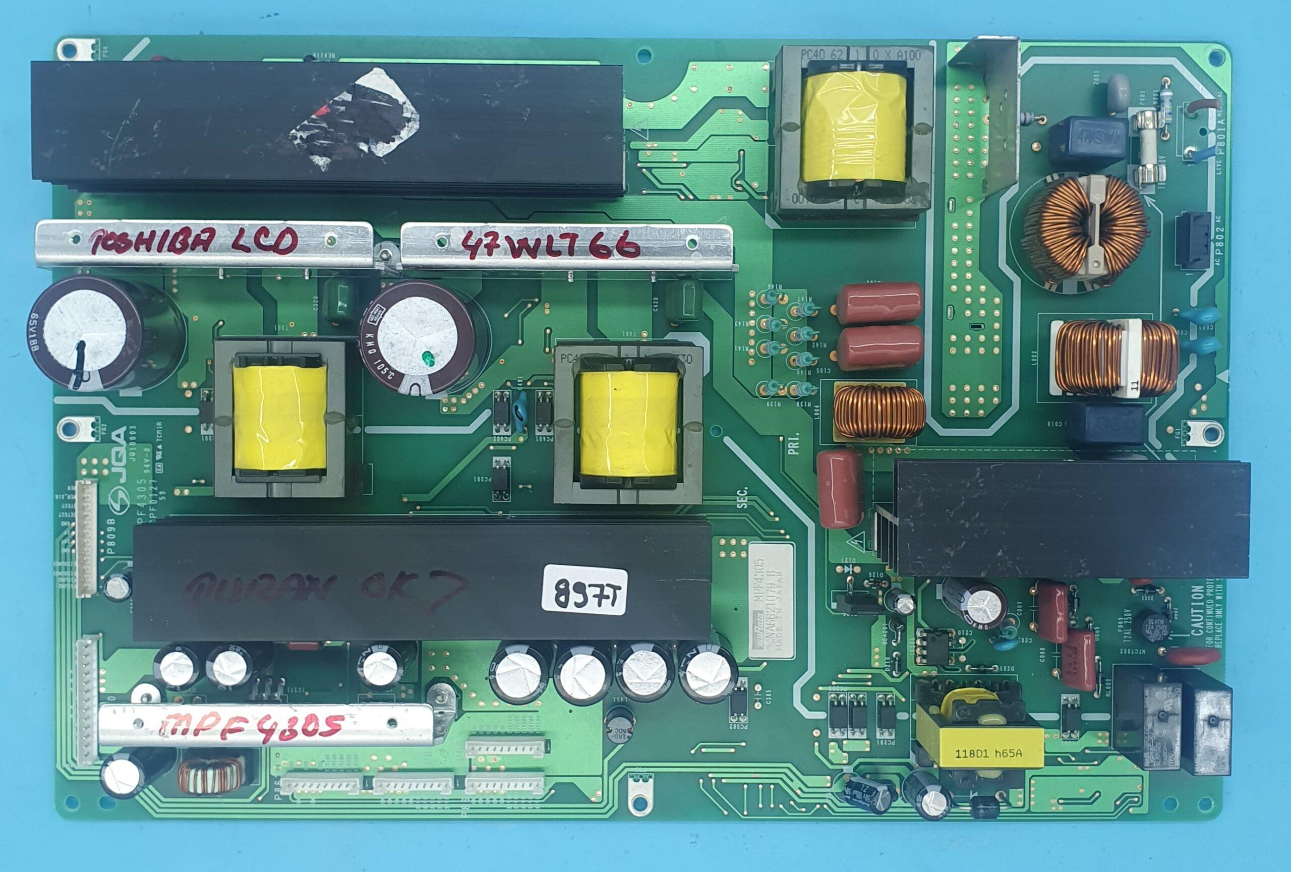 MPF4305 TOSHIBA Power Board (KDV DAHİL = 236 TL)