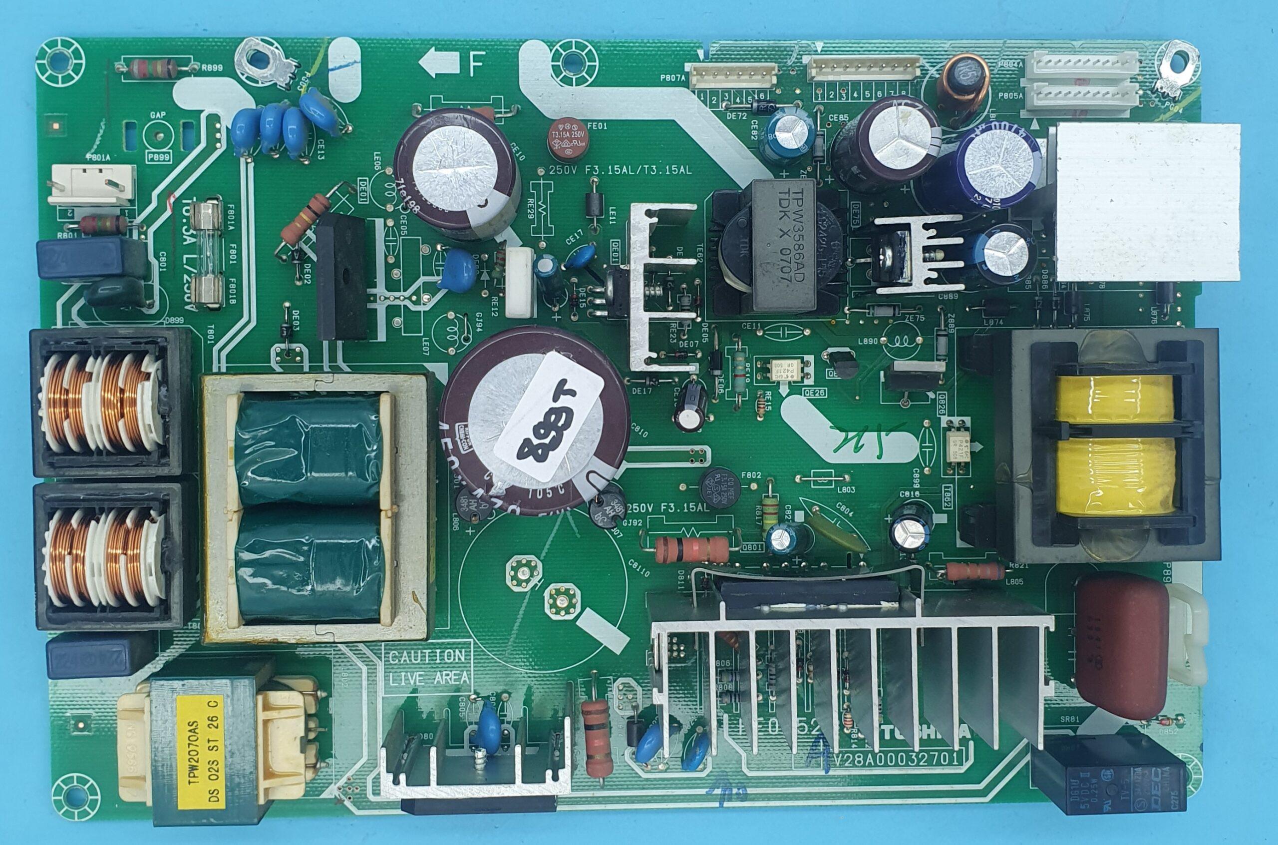 PE0252-V28A00032701 TOSHIBA Power (KDV DAHİL = 118 TL)