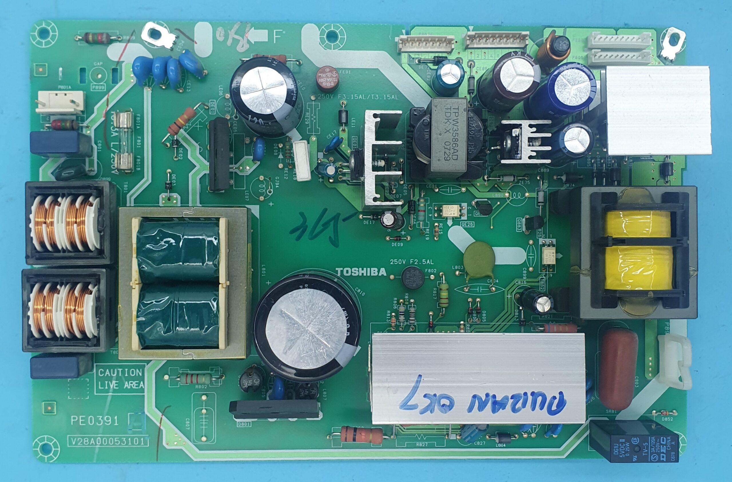 PE0391-V28A00053101 TOSHIBA Power (KDV DAHİL = 118 TL)