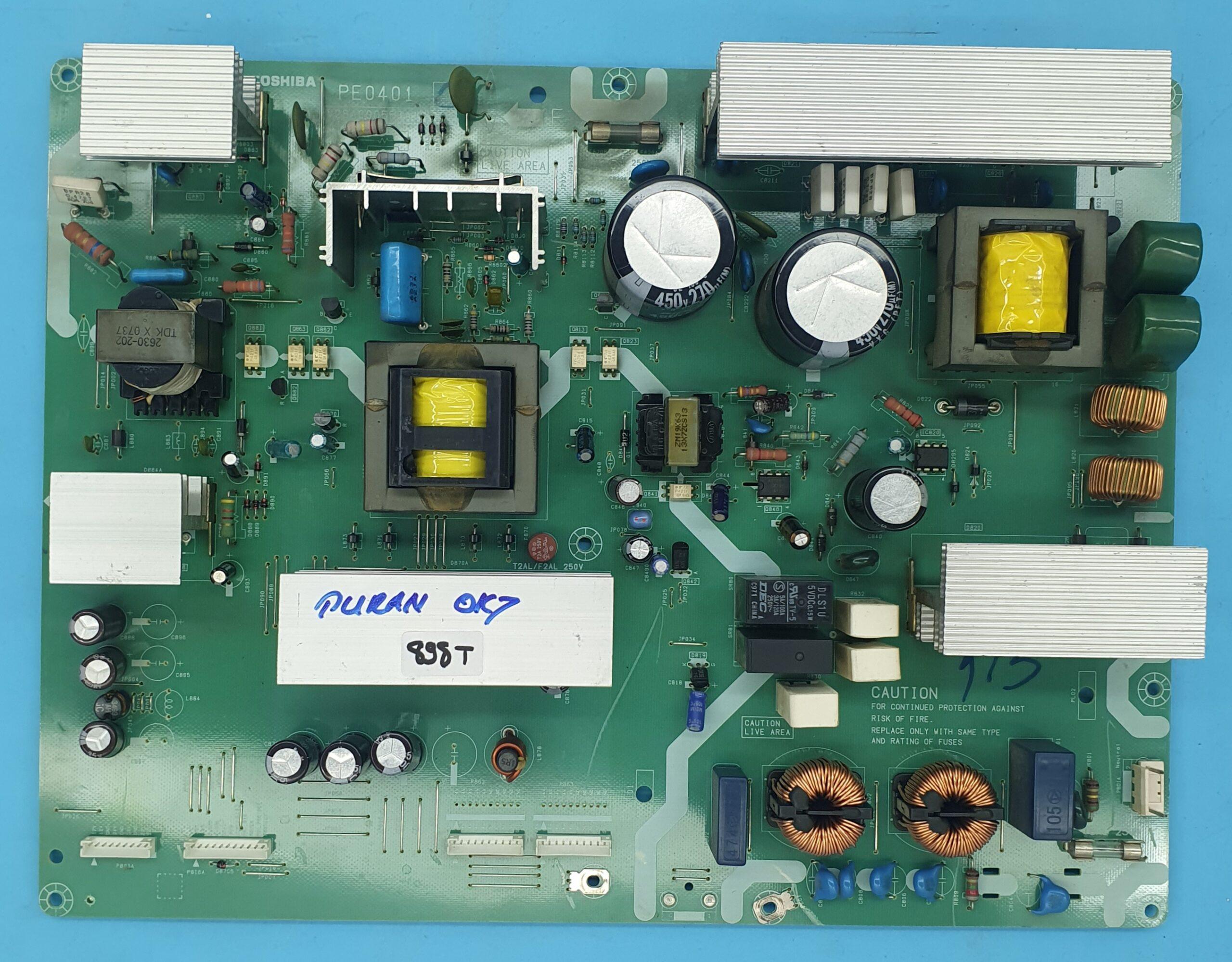 PE0401-V28A000553A1 TOSHIBA Power (KDV DAHİL = 150 TL)
